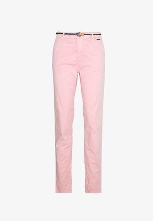 SLIM - Chino kalhoty - blush