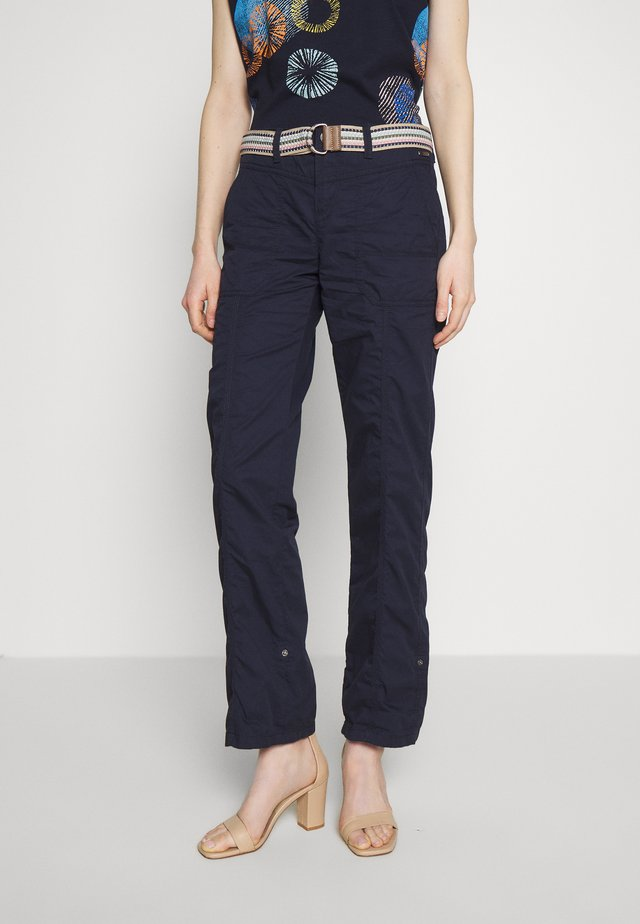 PLAY PANTS - Pantalones - navy