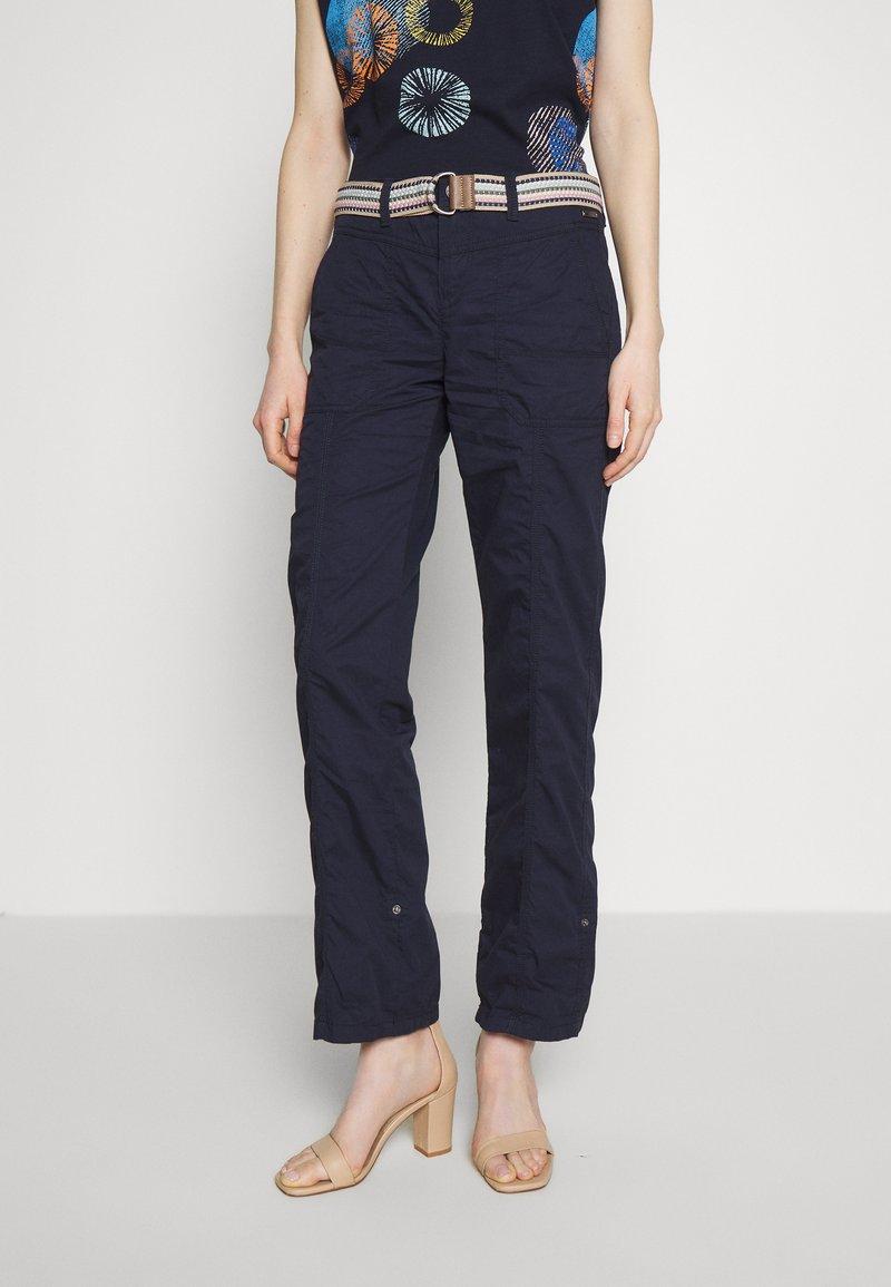 Esprit - PLAY PANTS - Bukse - navy