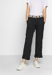 Esprit - PLAY PANTS - Pantalones - black - 0