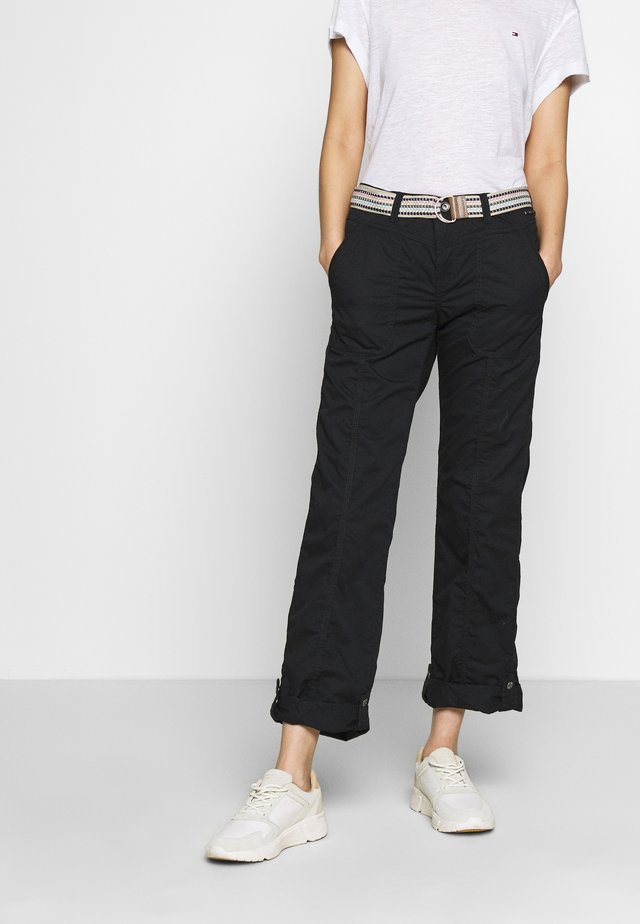 PLAY PANTS - Pantalones - black