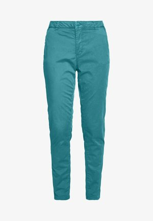 Chinos - teal green