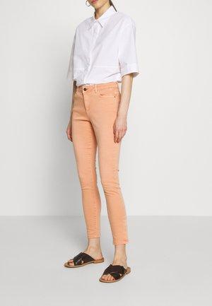 Jeansy Skinny Fit - rust orange