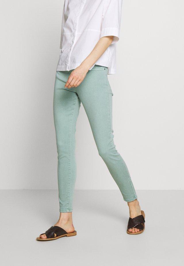 Jeansy Skinny Fit - light aqua green