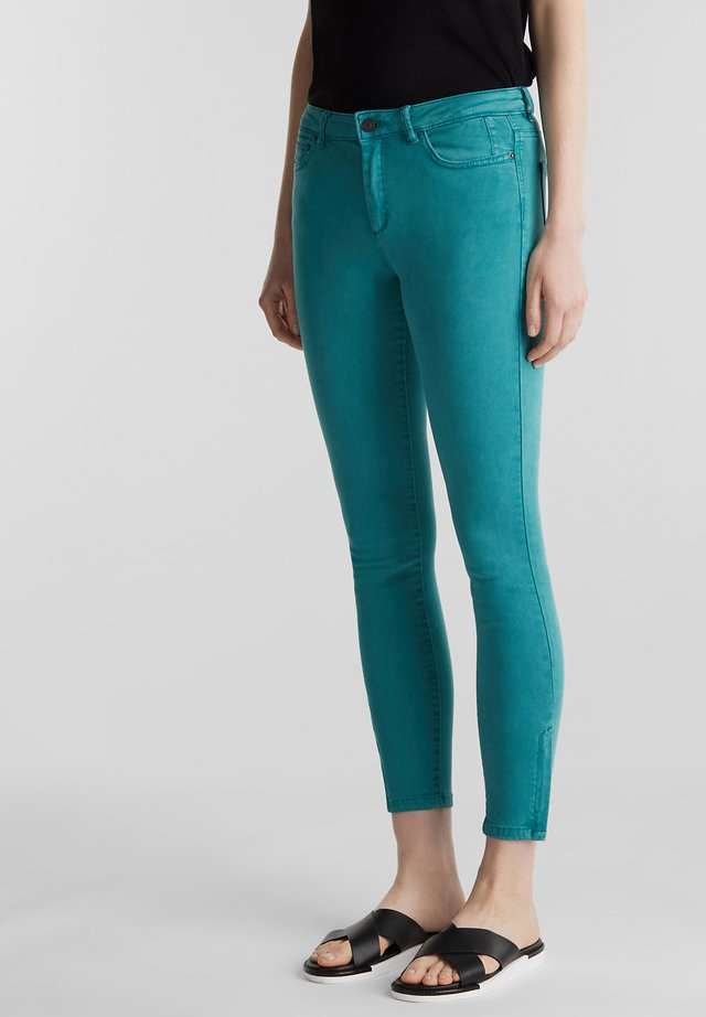 Jeans Skinny Fit - teal green