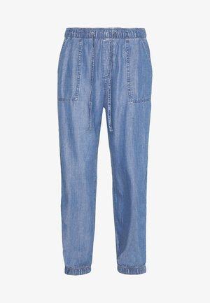 STRAIGHT - Trousers - blue medium