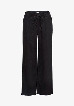 FASHION PANTS - Pantalon classique - black