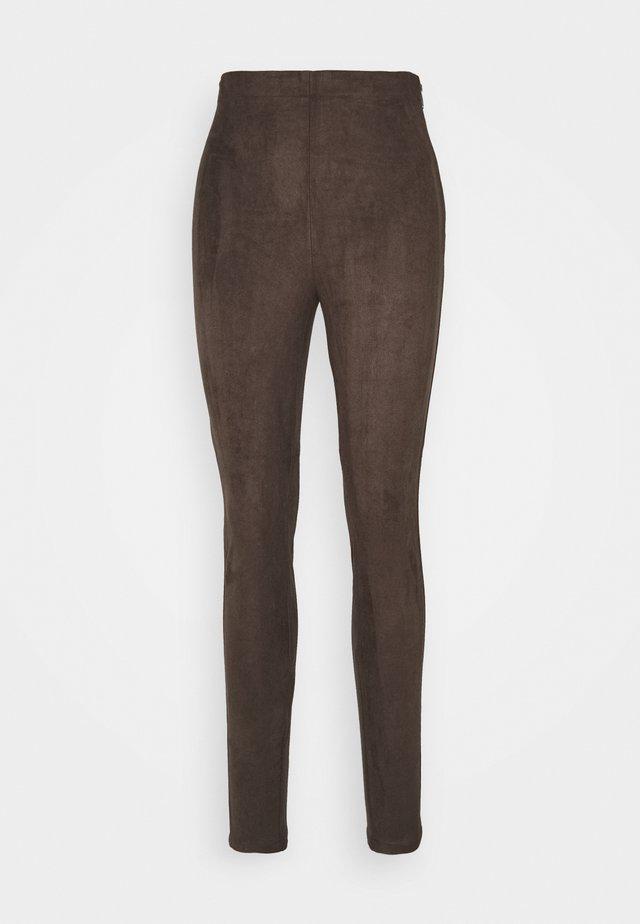 Legging - dark brown