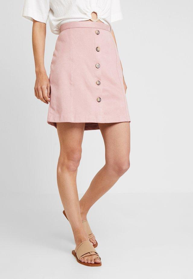 DFAKE - A-linjekjol - old pink