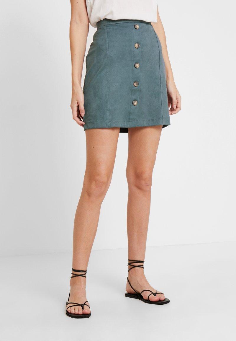 Esprit - DFAKE - Áčková sukně - dusty green