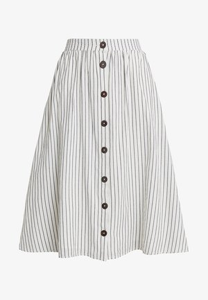 TEXTURE - Spódnica trapezowa - off white