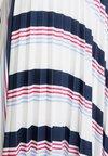 Esprit - KNITSKIRT - Pliceret nederdel /Nederdele med folder - navy