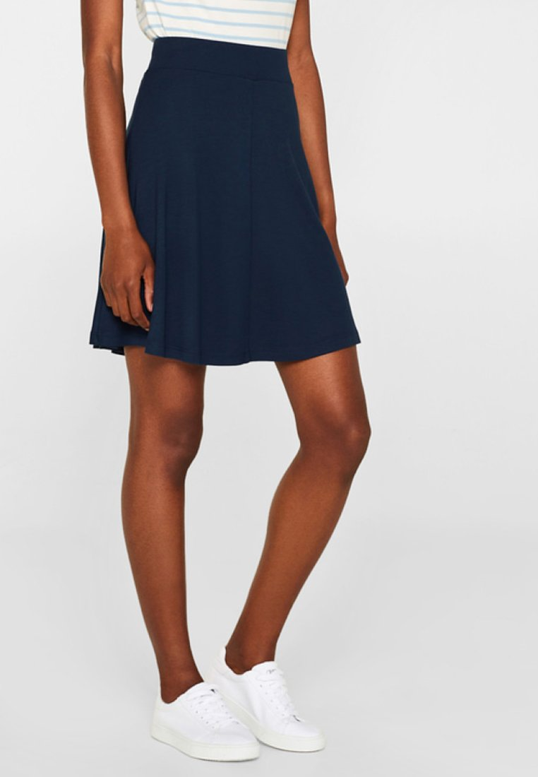 Esprit - A-line skirt - dark blue