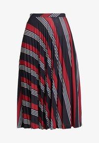Esprit - PLISSEE SKIRT - Spódnica trapezowa - black - 3