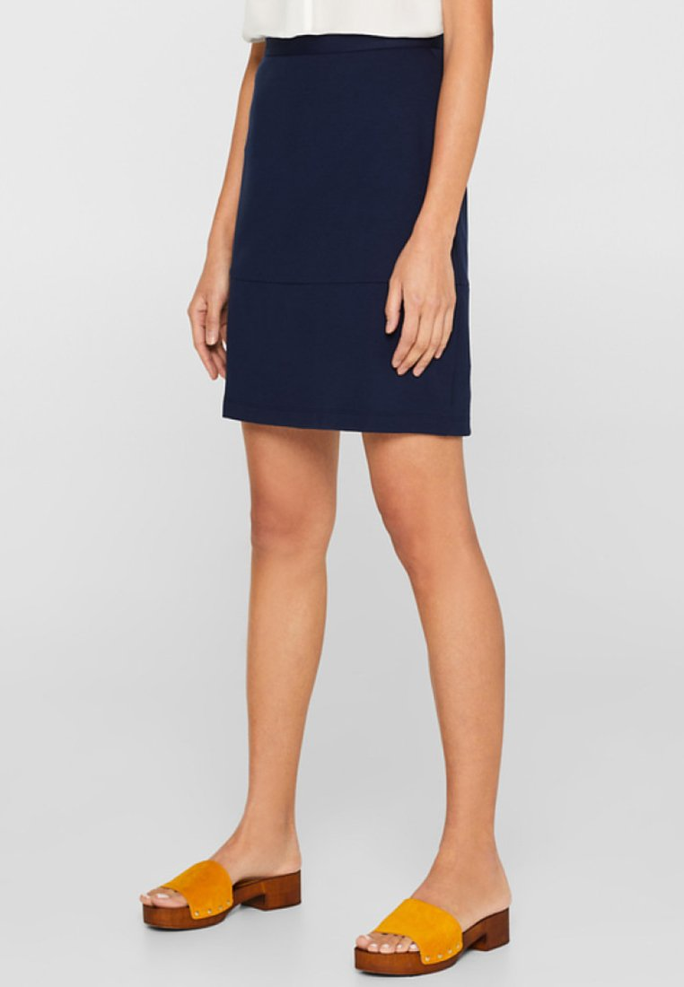 Esprit - A-snit nederdel/ A-formede nederdele - navy