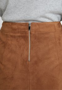 Esprit - MINI SKIRT - A-line skirt - toffee - 4