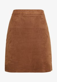 Esprit - MINI SKIRT - A-line skirt - toffee - 3