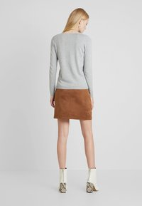 Esprit - MINI SKIRT - A-line skirt - toffee - 2