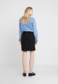 Esprit - MINI SKIRT - A-line skirt - black - 2