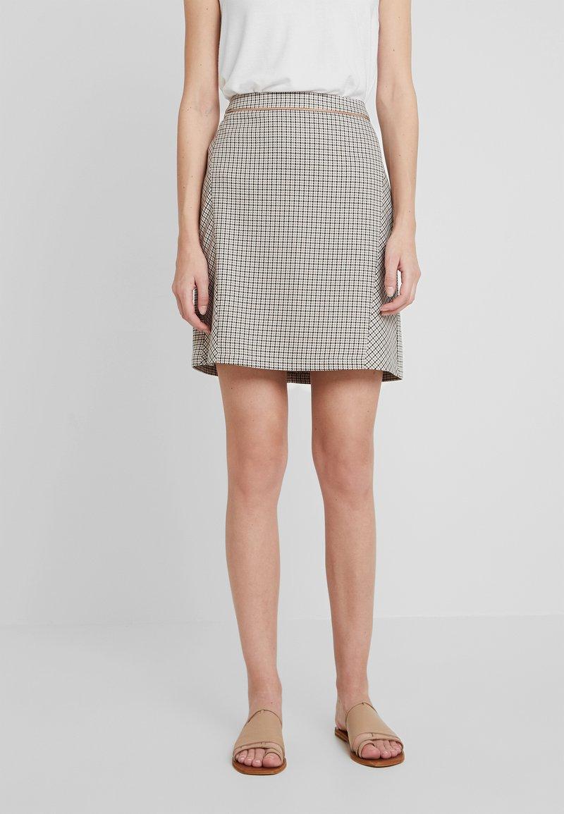Esprit - SKIRT - A-line skirt - camel