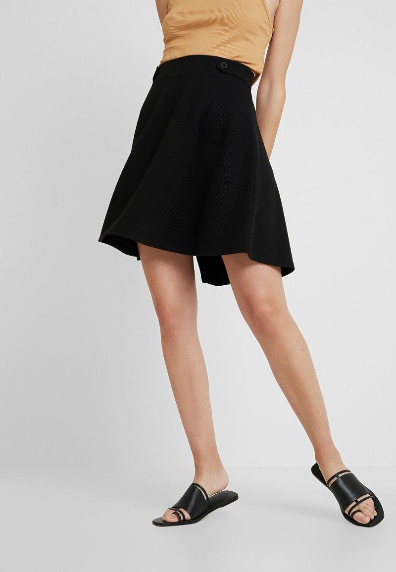 Esprit - A-linjainen hame - black