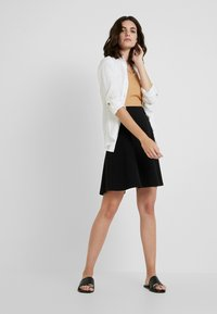 Esprit - A-line skirt - black - 1