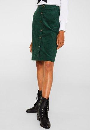 Blyantnederdel / pencil skirts - bottle green