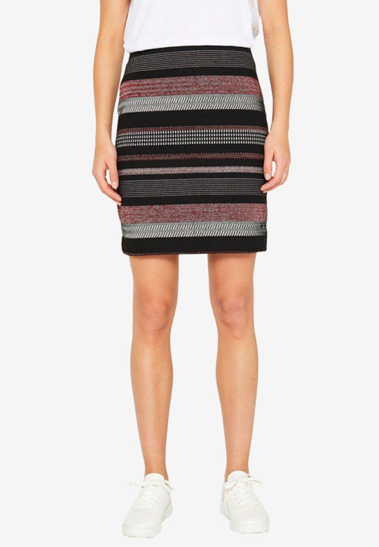 Esprit - Mini skirt - black