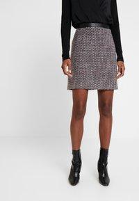 Esprit - SKIRT - A-line skirt - garnet red - 0
