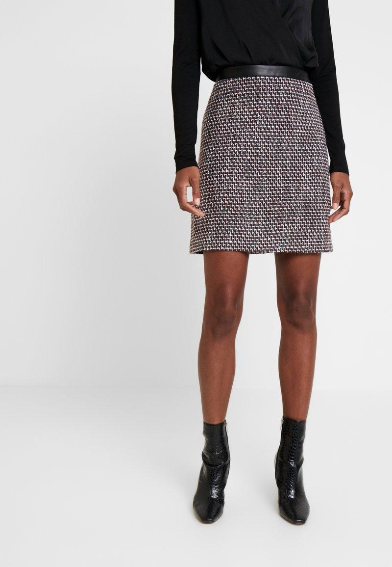 Esprit - SKIRT - A-line skirt - garnet red