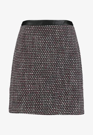 SKIRT - A-line skjørt - garnet red