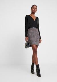 Esprit - SKIRT - A-line skirt - garnet red - 1