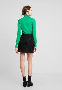 Esprit - SKIRT - Pencil skirt - black - 2