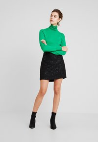 Esprit - SKIRT - Pencil skirt - black - 1
