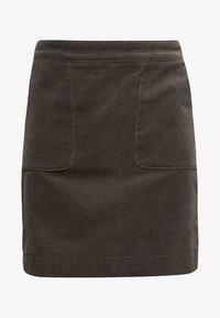 Esprit - MIT FRONTTASCHEN - A-snit nederdel/ A-formede nederdele - khaki green - 6
