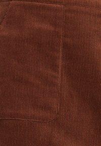 Esprit - MIT FRONTTASCHEN - Jupe trapèze - dark brown - 6