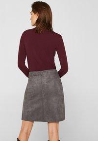 Esprit - A-line skirt - medium grey - 2