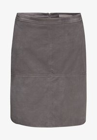 Esprit - A-line skirt - medium grey - 5