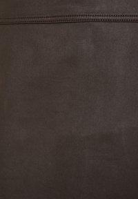 Esprit - A-lijn rok - dark brown - 5