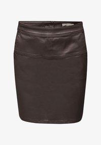 Esprit - A-lijn rok - dark brown - 6