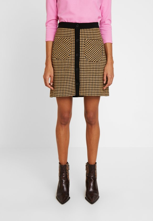 SKIRT - Mini skirt - yellow