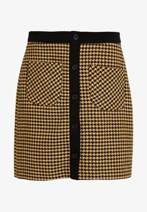 SKIRT - Minirok - yellow