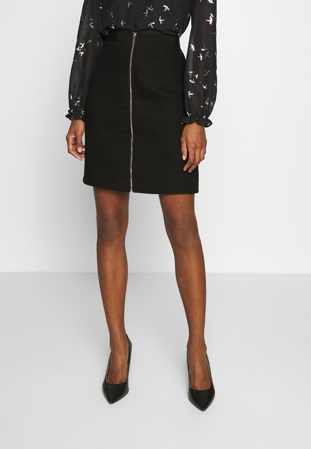 WINTER - Mini skirt - black