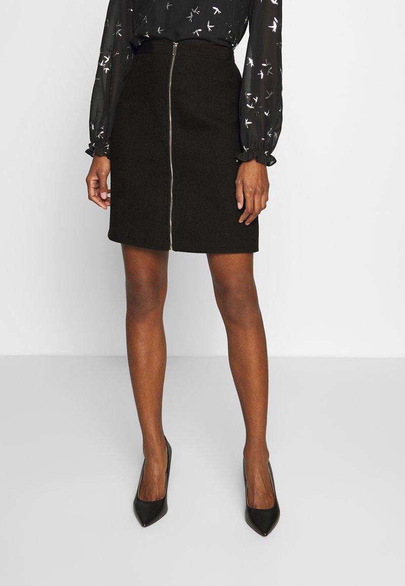 Esprit - WINTER - Spódnica mini - black