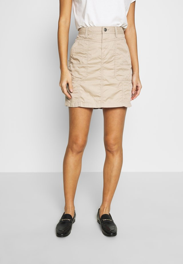 PLAY SKIRT - A-line skirt - beige