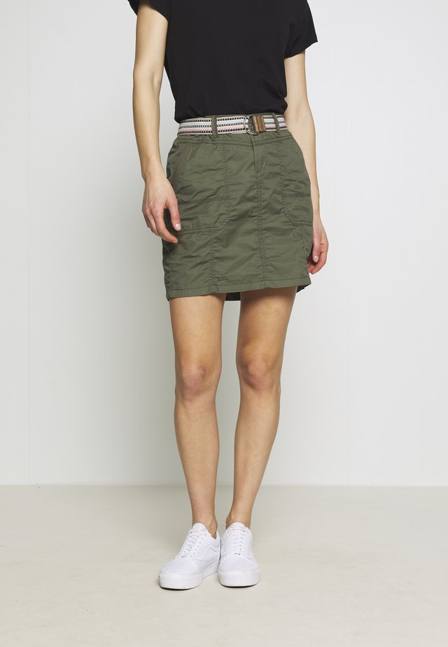 PLAY SKIRT - A-line skirt - khaki green