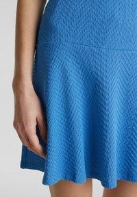 Esprit - SKIRT - A-lijn rok - bright blue - 4