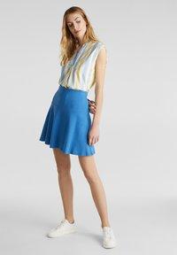 Esprit - SKIRT - A-lijn rok - bright blue - 1