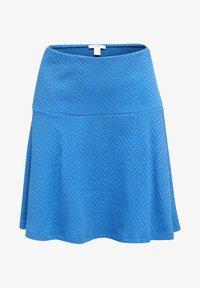 Esprit - SKIRT - A-lijn rok - bright blue - 5