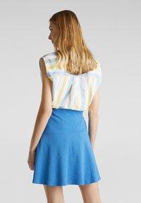 Esprit - SKIRT - A-lijn rok - bright blue - 2